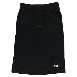 timeless design f69ea 3b8c6 Shop Nike Womens Modern Sportswear Skirt Black - On Sale - Free Shipping  Today - Overstock - 22613771