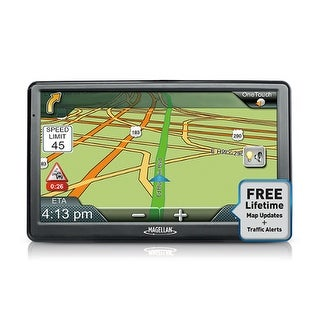 Refurbished Magellan RoadMate 9612T-LM 7-inch Automotive GPS w/ Lifetime Map & Traffic Updates