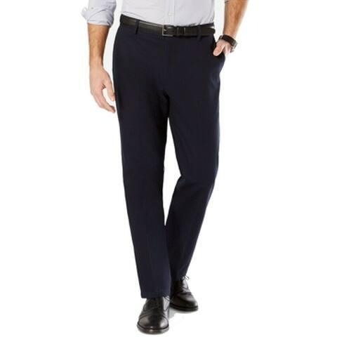 Dockers Mens Pants Blue Size 46x30 Big & Tall Tapered Fit Khakis Stretch