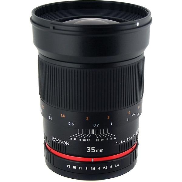 Rokinon 35mm f/1.4 AS UMC Lens for Pentax K - Black