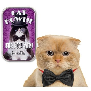 Bow Tie For Cats in Collectible Tin