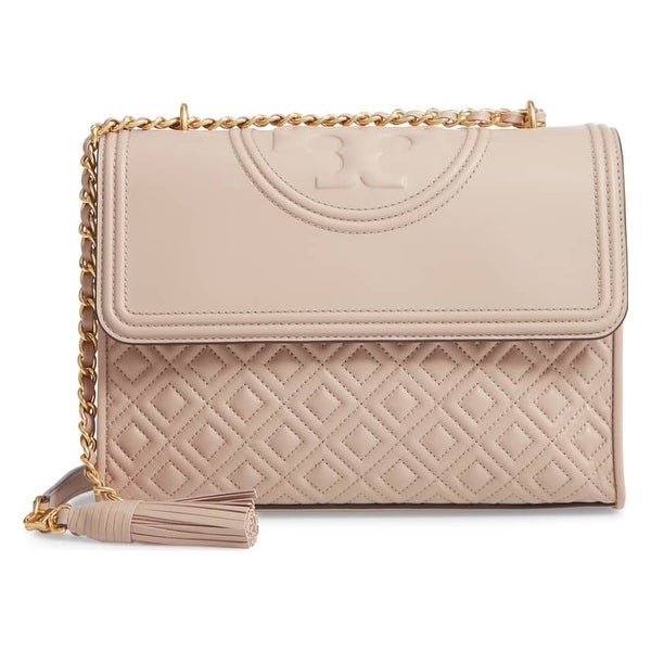 e3e451847d6e Shop Tory Burch Fleming Convertible Shoulder Bag - On Sale - Free ...