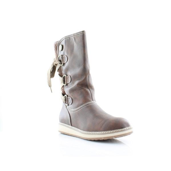 White Mountain Tivia Women's Boots Cognac - 5