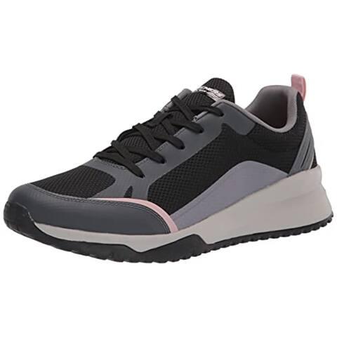 Skechers BOBS Women's Bobs Squad 3 Sneaker, Black