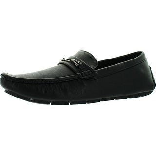 J's Awake Men's Tony-03 Slip On Loafers Casual Moccasins