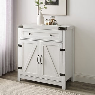 Link to The Gray Barn 30-inch Rustic Barn Door Accent Cabinet Similar Items in Office Storage & Organization