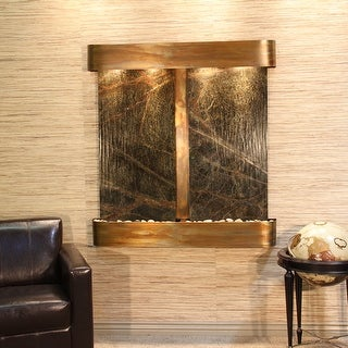 Aspen Falls Fountain - Rustic Copper - Rounded Edges - Choose Options