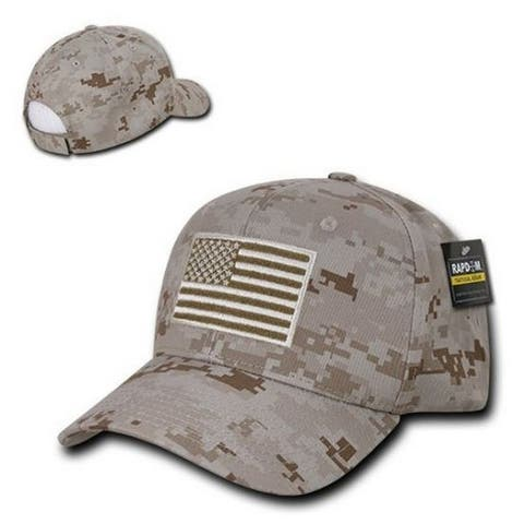 huge selection of b6650 98f10 Rapid Dominance Embroidered Operator Flag Baseball Cap Hat Color Choice T76- USA