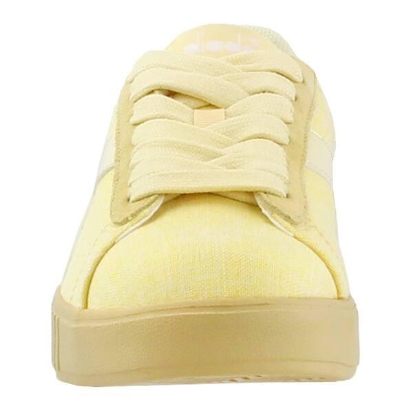 Yellow Womens Diadora Game Step CV Sneakers Casual