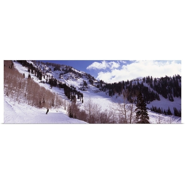 fc4137bf833db Shop Poster Print entitled Trees in snow