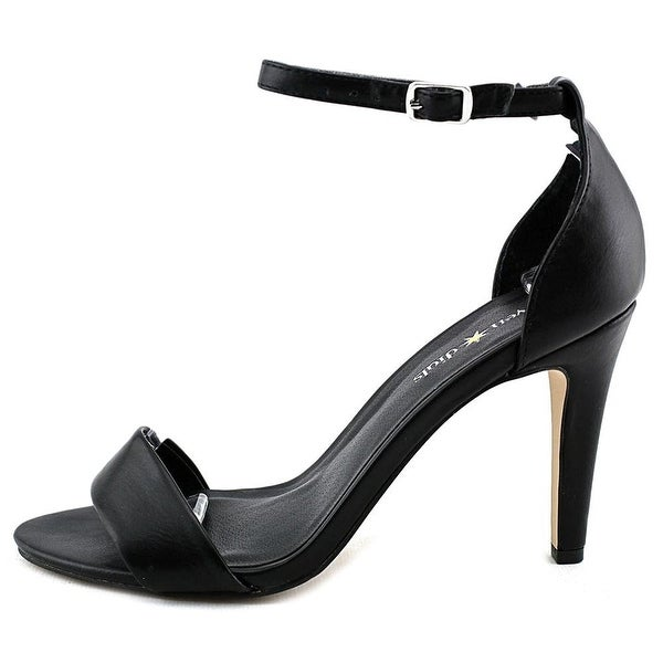 Seven Dials Womens Wickford Open Toe Ankle Strap Classic Pumps