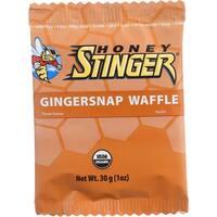 Honey Stinger Waffle - Organic - Gingersnap - 1 oz - case of 16