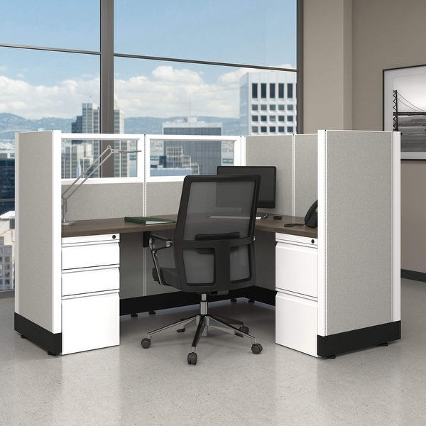 Modular Office Furniture Systems 53H Powered. Opens flyout.