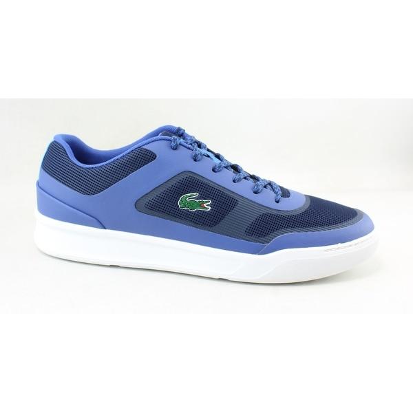 0771b82da97c Shop Lacoste Mens Explorateur Sport Blue Fashion Sneaker Size 10.5 ...