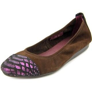 Spring Step Kuma Round Toe Leather Flats