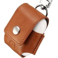 AirPods Anti-lost Leather Protective Cover for Apple AirPods Charging Case