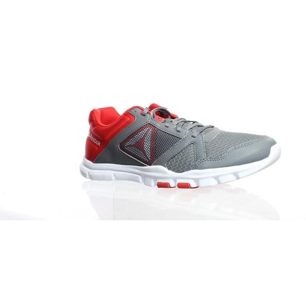 95549d87950e8 Shop Reebok Mens Yourflex Train 10 Gray Cross Training Shoes Size 11 ...