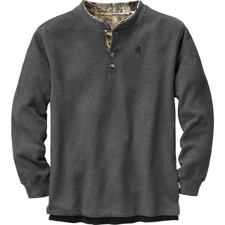 Legendary Whitetails Mens Summit Double Collar Henley