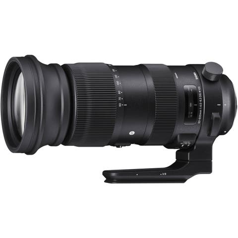 Sigma 60-600mm f/4.5-6.3 DG OS HSM Sports Lens for Canon EF