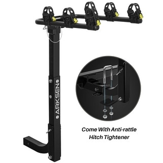 Link to Arksen Premium 3-Bike Carrier Rack Hitch Mount Swing Down Bicycle Rack - standard Similar Items in Cycling Equipment