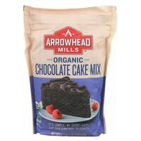 Arrowhead Mills Organic Cake Mix - Chocolate - Case of 6 - 18.2 oz.