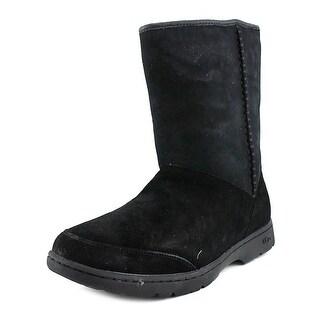 Ugg Australia Michaela Women Round Toe Suede Black Winter Boot