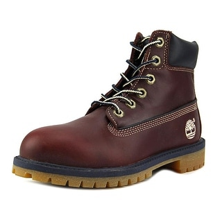 "Timberland 6"" Basic Waterproof Round Toe Leather Boot"