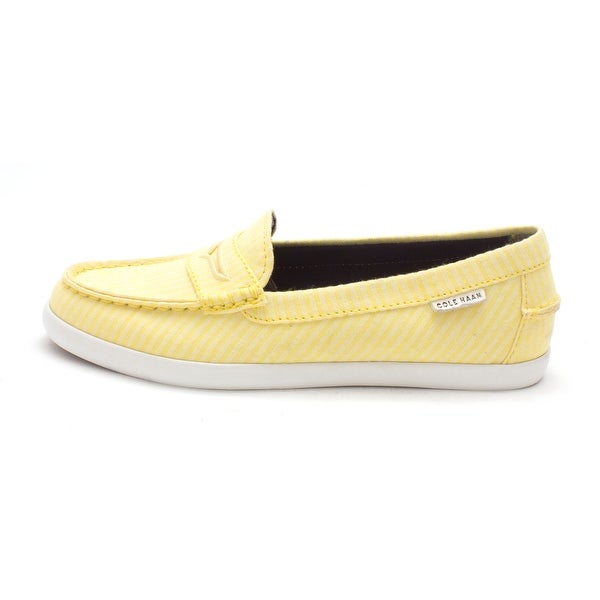 Cole Haan Womens Rachaelsam Closed Toe Loafers, Sunshine stripes, Size 6.0