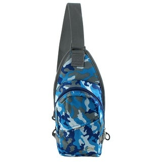 Unique Bargains HWJIANFENG Authorized Climbing Nylon Hiking Backpack Bag Camouflage Gray