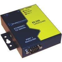 Brainboxes ES-320 Brainboxes 1 Port RS422/485 Ethernet to Serial Adapter ES-320 - 1 x Network (RJ-45) - 1 x Serial Port - Fast