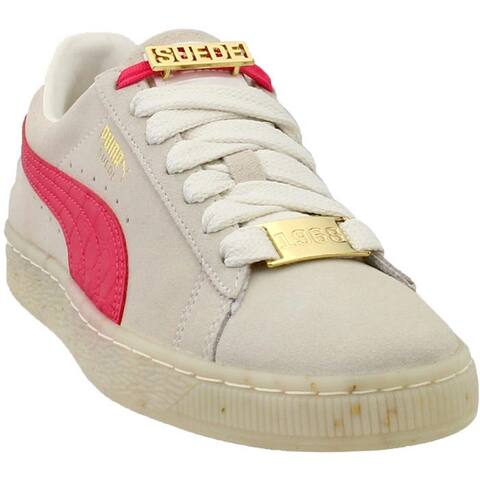 Puma Womens Suede Classic Bboy Fab Leather Low Top Lace Up Fashion Sneakers