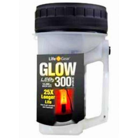 Floating Waterproof Glow Lantern - Clear