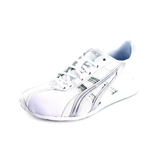 Asics Cheer 6 GS Youth Round Toe Synthetic White Dance