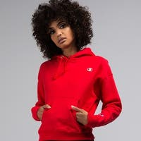 Champion Reverse Weave Pullover Hoodie with Chest C Logo