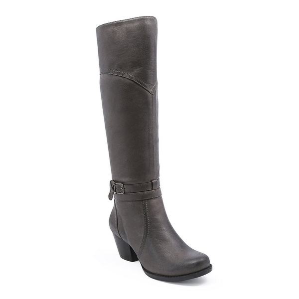 Bare Traps Womens Rhodes Almond Toe Knee High Fashion Boots