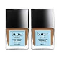 2 Pack Butter London Sheer Wisdom Nail Tinted Moisturizer Treatment .4 Oz - Tan
