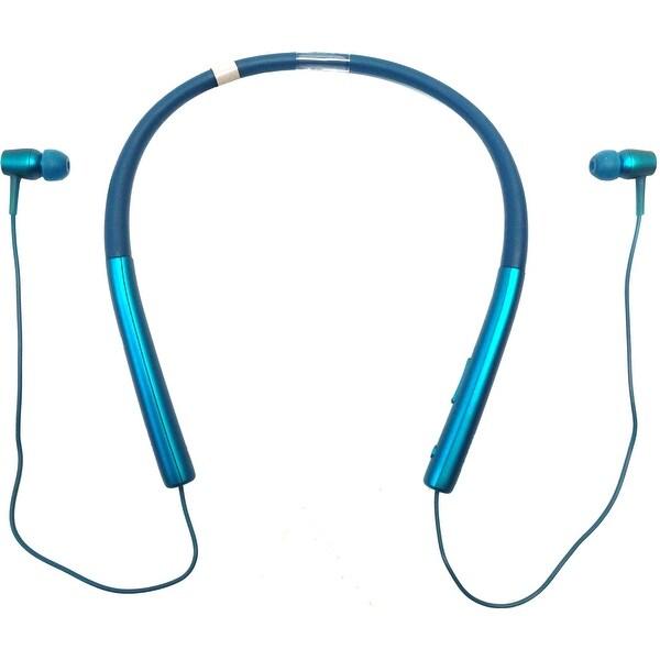 Sony h.ear in MDR-EX750BT Earset - Stereo - Viridian Blue - (Refurbished)