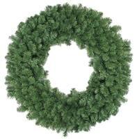 "48"" Colorado Pine Artificial Christmas Wreath - Unlit - green"