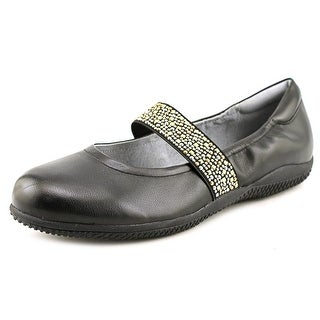 Softwalk High Point Flat N/S Round Toe Leather Mary Janes