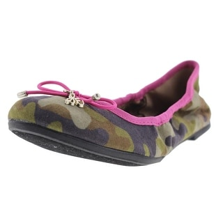 Sam Edelman Girls Fiona Canvas Ballet Flats - 12.5 medium (b,m)