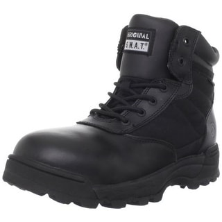 Original S.W.A.T. Mens Leather Safety Toe Tactical Boots - 4