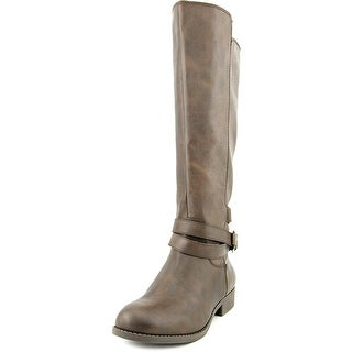 Mia Private Round Toe Synthetic Knee High Boot