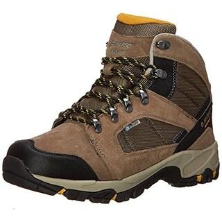 Hi-Tec Mens Borah Peak I Suede Waterproof Hiking Boots