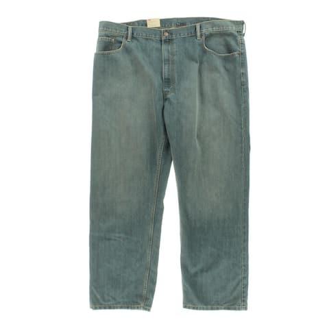 Levi's Mens Big & Tall 559 Straight Leg Jeans Dirt Wash Classic-Rise - Blue