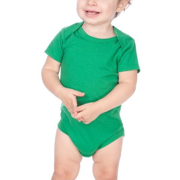 Kavio! Unisex Infants Lap Shoulder Short Sleeve