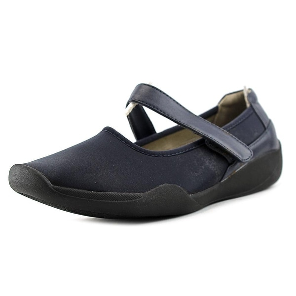 Stretchies Margaret Women W Round Toe Canvas  Mary Janes