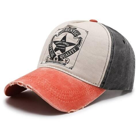 Unisex Tie-Dye Retro Sports Casual Hat
