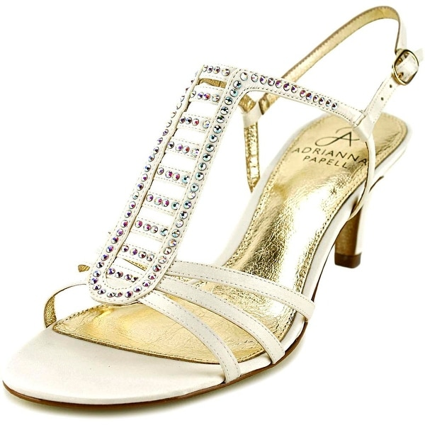 Adrianna Papell Ainsley   Open Toe Canvas  Sandals