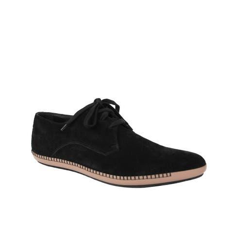 Bottega Veneta Men's Black Suede Pointed Toe Dress Shoe 512171 1000