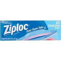 Johnson S C Inc Pint Ziploc Freezer Bag 00399 Unit: EACH